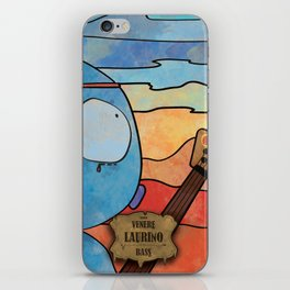 Laurino from Venus (Bass) iPhone Skin