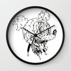 Zombie Mickey Wall Clock