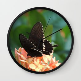Kowloon Wings Wall Clock
