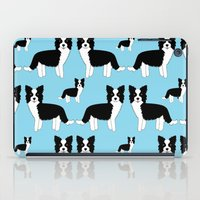border collie iPad Cases featuring Border Collie  by Heroinax