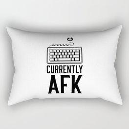 Currently AFK Rectangular Pillow