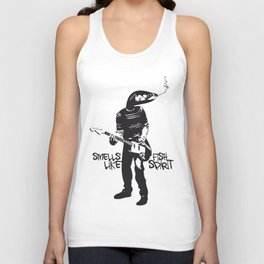 SMELLS LIKE FISH SPIRIT Unisex Tank Top