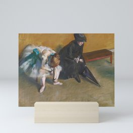 Waiting by Edgar Degas Mini Art Print