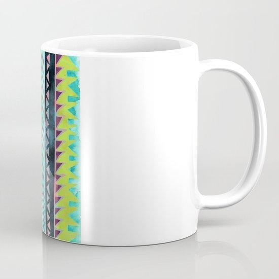 PATTERN {Tribal Stripe - Green} Mug