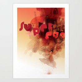 freud's superego Art Print