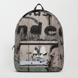 Change is a positive act Backpack