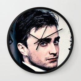 Portrait of Daniel Radcliffe Wall Clock