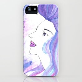 Cool Breeze Nymph iPhone Case