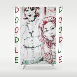 Gingerdoodle Shower Curtain