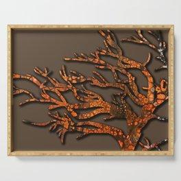 autumn tree Serving Tray