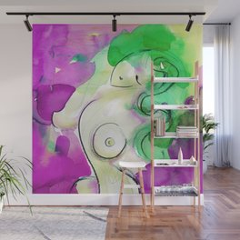 Abstract Nude Goddess 11c by Kathy Morton Stanion Wall Mural