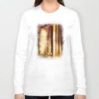dreams Long Sleeve T-shirts featuring Dreams by Viviana Gonzalez