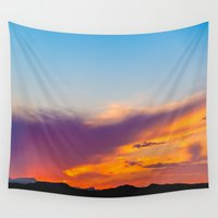 neon Wall Tapestries featuring Neon by KJo-Photo