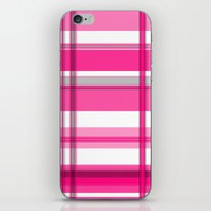 Shades of Pink and White II iPhone Skin