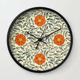 Examples of Chinese Ornament 1867 Wall Clock