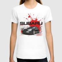 subaru T-shirts featuring Cars: Subaru WRX STI by Urbex :: Siam
