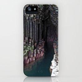 Fingal's Cave iPhone Case
