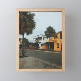 Greene Street, Key West Framed Mini Art Print