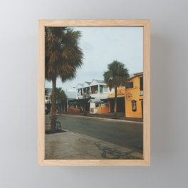 Greene Street, Key West Framed Mini Art Print