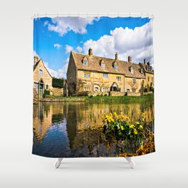 Lower Slaughter (The Cotswolds) Shower Curtain