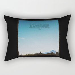 T.S. Eliot: Exploration Rectangular Pillow