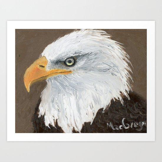 Eagle by MacGregor Art Print
