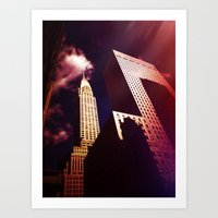 nyc Art Prints featuring NYC by Vivienne Gucwa