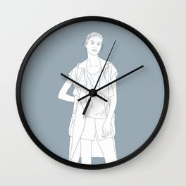 Girl Wall Clock
