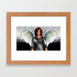 Manic Panic Angel Framed Art Print