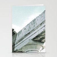 roman Stationery Cards featuring roman Ruin by Upperleft Studios