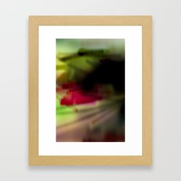 color field_(tetrad) Framed Art Print