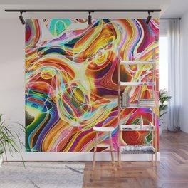Caotic Colors XXX Wall Mural