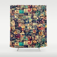movies Shower Curtains featuring I Like Movies by ezop
