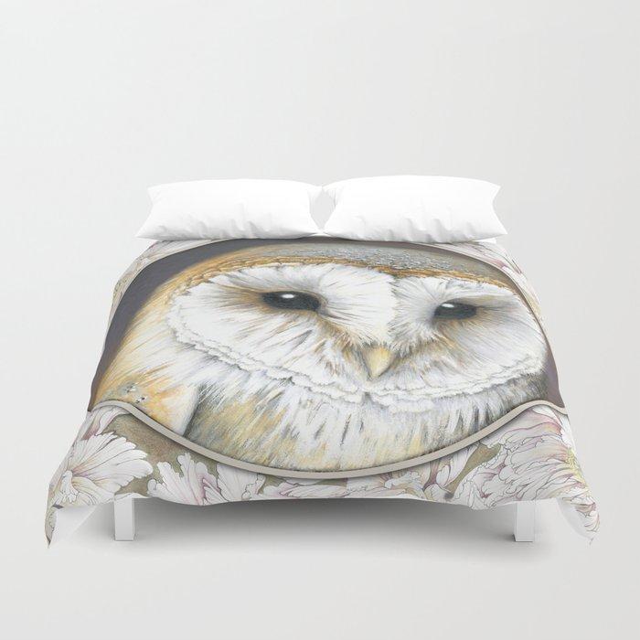 shop fine art owls pike in snowy owl flight duvet ann cover carrie america grippo covers