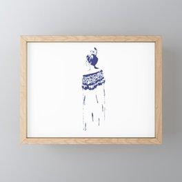 He Kakano Ahau - Kahurangi Framed Mini Art Print