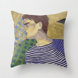 Squares & Stripes Throw Pillow