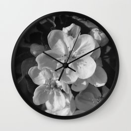 Spring Blossoms in Denmark Wall Clock