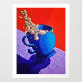 The Morning Cup of Coffee Art Print