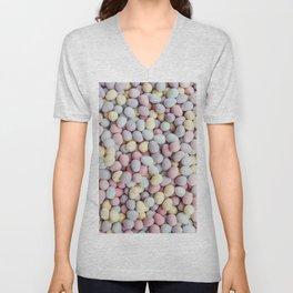 eggs color Unisex V-Neck