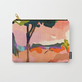sundown with tree landscape Carry-All Pouch
