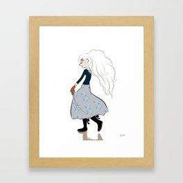 Lilith. Framed Art Print
