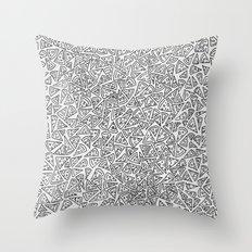 2D Pizza Throw Pillow
