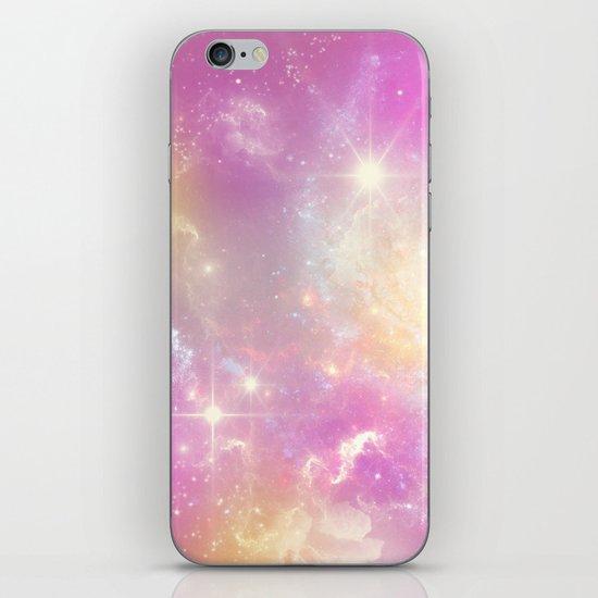 Pink Galaxy iPhone & iPod Skin