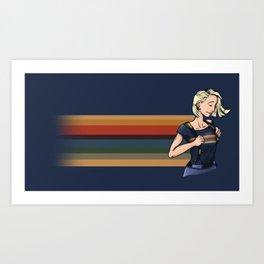 Doctor 13 Art Print