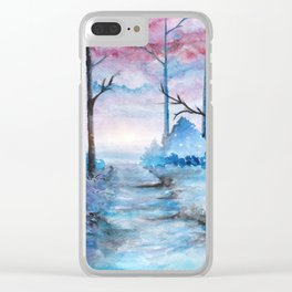Into The Forest IV Clear iPhone Case