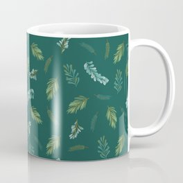 Winter Spruce Pattern Coffee Mug