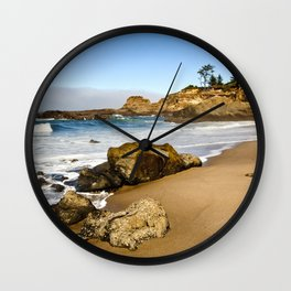 Lighthouse Beach Wall Clock