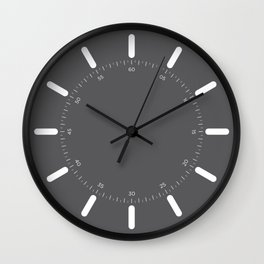 Raggi - Grey Wall Clock