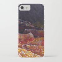 smaug iPhone & iPod Cases featuring Smaug  by Chiara Martinelli Creations