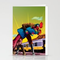 passion Stationery Cards featuring Passion by Pierre-Paul Pariseau